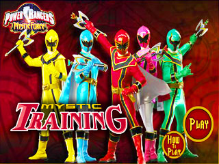 เกมส์ Power Rangers Mystic Training