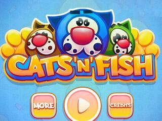 เกมส์ Cats and Fish
