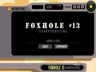 เกมส์ Foxhole 13 - Sharpshooting