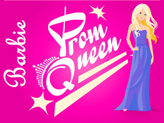 เกมส์ Barbie Prom queen