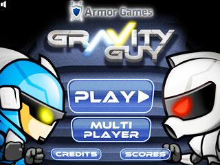 เกมส์ Gravity Guy