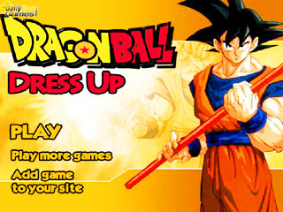 เกมส์ Dragon Ball Dress Up