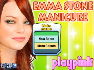 เกมส์ Emma Stone Nail Salon