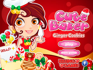 เกมส์ Cute Baker Cookies
