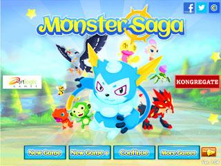เกมส์ Monster Saga