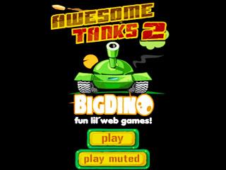เกมส์ Awesome Tanks2