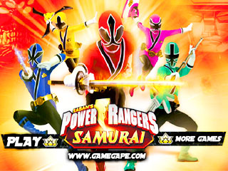 เกมส์ Power Ranger Super Samurai