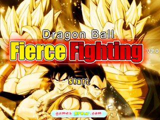 เกมส์ Dragon Ball Fierce Fighting 2.0
