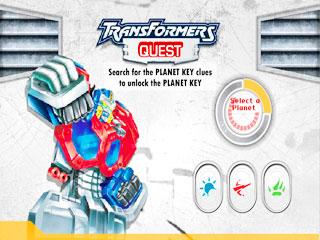 เกมส์ Transformers Quest