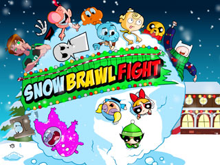 เกมส์ Snow Brawl Fight