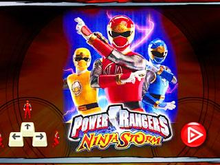 เกมส์ Power Rangers Ninja Storm