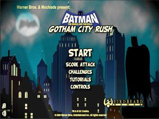 เกมส์ Batman: Gotham City Rush
