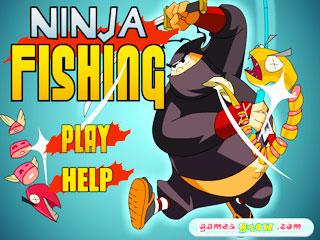 เกมส์ Ninja Fishing