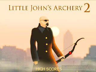 เกมส์ Little John's Archery 2