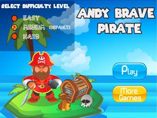 เกมส์ Andy Brave Pirate