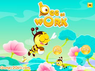 เกมส์ Bee At Work