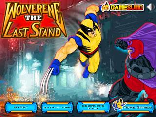 เกมส์ Wolverine The Last Stand