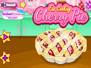 เกมส์ Fun Cooking Cherry Pie