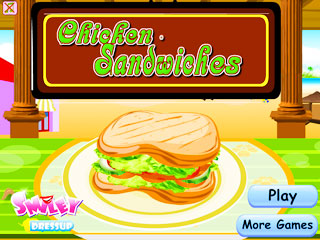 เกมส์ Chicken Sandwiches