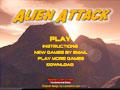 เกมส์ทหารยิง ยานผู้บุกลุก Alien Attack