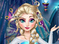 เกมส์ Elsa Frozen Real Haircuts