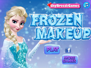 เกมส์ Frozen Make up