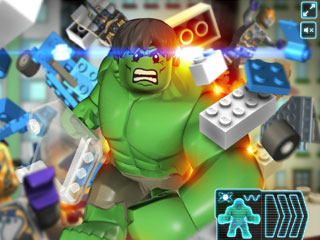 เกมส์ Hulk The Lego