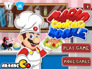 เกมส์ Mario Cooking Noodle