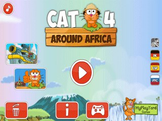 เกมส์ Cat Around Africa