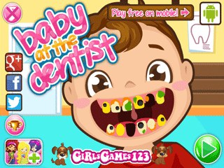เกมส์ Baby at the Dentist