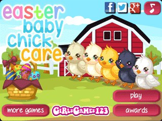 เกมส์ Easter Baby Chick Care