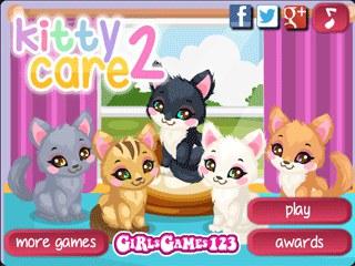 เกมส์ Kitty Care 2