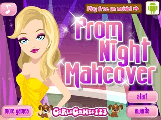 เกมส์ Prom Night Makeover