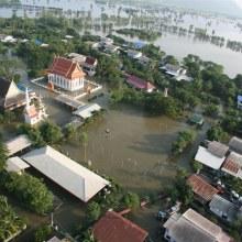 เมืองลพบุรี ถูกน้ำท่วมครั้งใหญ่ในประวัติศาสตร์
