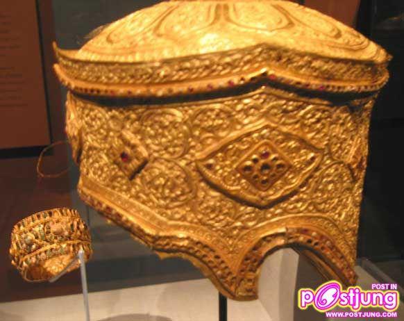 พระมาลาทองคำสมับอยุธยา