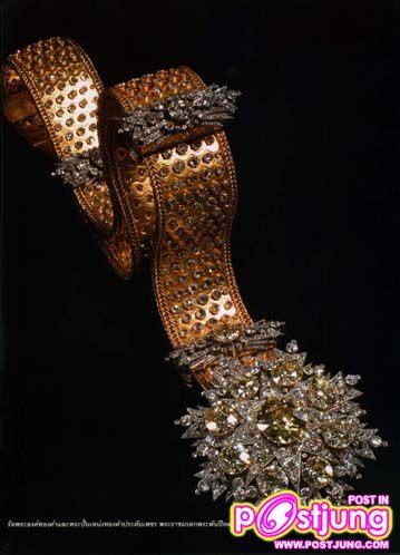 เข็มขัดทองคำปัจจุบันเป็นมรดกตกทอดมาถึงสมเด็จพระนางเจ้าสิริกิตพระบรมราชินินาถ