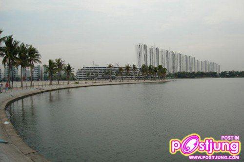 ทะเลสาปเมืองทองธานี