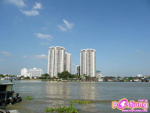 คอนโดริมแม่น้ำในจังหวัดนนทบุรี