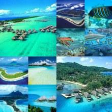 ๛หมู่เกาะโบรา โบร่า ทะเลที่สวยที่สุดในโลก๛