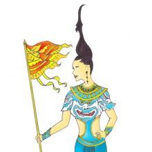 ชุดประจำชาติไทย ส่งครั้งแรกมาติหน่อยดิ