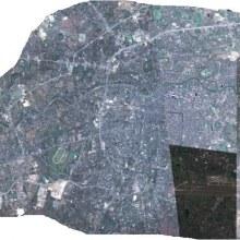 ภาพตัวเมืองของจังหวัดหรืออำเภอต่างๆ มองจาก Google Earth