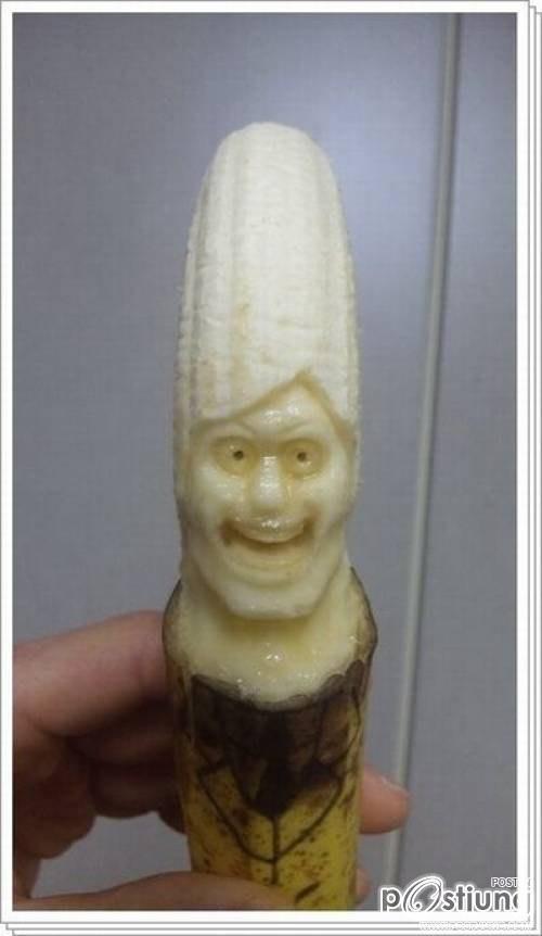 มหัศจรรย์ กล้วยแกะสลัก อะไรจะอาร์ตปานนี้
