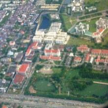 ตัวเมืองนนทบุรี จากมุมสูง