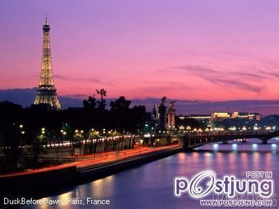 สถานที่ท่องเที่ยวที่สวยที่สุดในโลก