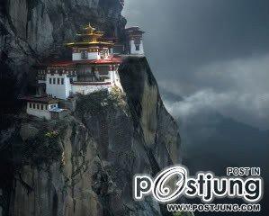 1 - Tiger's Nest Monastery, Phutan    ถือเป็นวัดที่มีชื่อเสีย