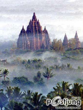 3 - Prambanan : Hindu temple, Indonesia      วัดฮินดู