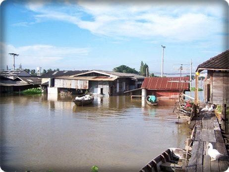 น้ำท่วมนนทบุรี (ฝั่งตะวันตก) 2554