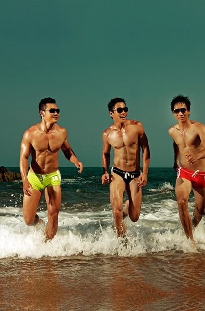 Seahorse Underwear and Swimwear from Asia