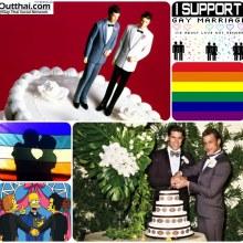 For Gay ไม่ใช่เกย์ห้ามคลิกดูนะ รูปแต่งงานเกย์น่ารักๆ