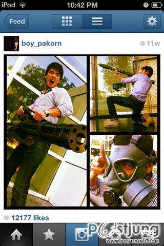 บอย ปกรณ์ Instagram น่ารักเพี้ยนๆ